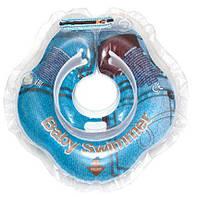 Круг для купания младенцев Джинса Гламур  3-12кг