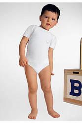 RelaxMaternity Baby 5930 Cotton - Трико (бодик) с короткими рукавами.