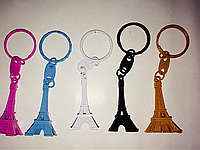 Эйфелева башня брелок на ключи металл