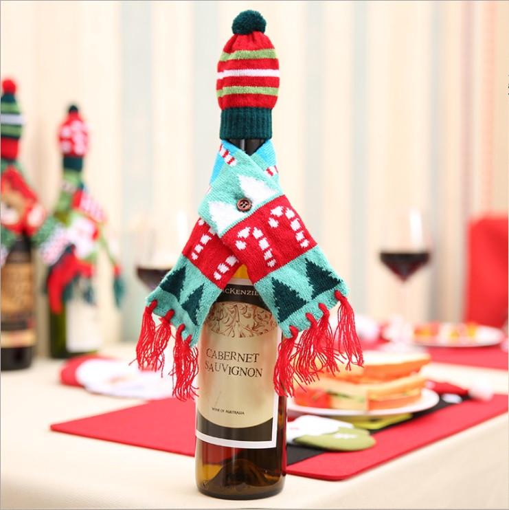 Новогоднее украшение для бутылки - Baby-friends в Киеве