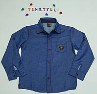 Стильная рубашка для мальчика рост от 110-116 см 778d74756fe11