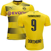 Футбольная форма Боруссия Дортмунд Ярмоленко (Borussia Dortmund Yarmolenko) 2017-2018 Домашняя, фото 1