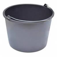 Ведро строительное круглое из мягкого высококачественного пластика 20 л