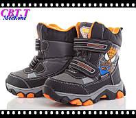 Термо ботинки для мальчиков оптом.A707-2 (8пар 27-32