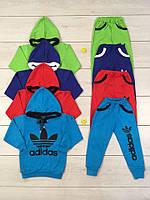 Спортивный костюм детский 794 Адидас, интерлок, начес, р.р.28-36