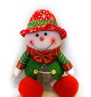 Банка для конфет Снеговик