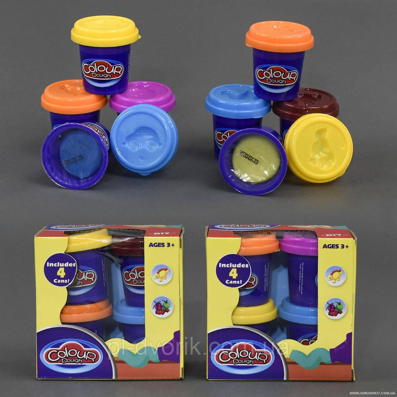 Тісто для ліплення 9201 (48) 250 грам, 4 кольори, в коробці Довжина: 12 см Ширина: 6 см Висота: 13 см Упаковка: Коро