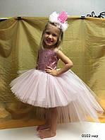 Карнавальное нарядное пышное платье для девочки 0102 нар