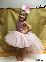 Карнавальное нарядное пышное платье для девочки 0102 нар , фото 1