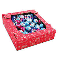 Шоколадные конфеты новогодние шарики для детей Baron 1,8 кг в коробе