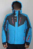 Лижна куртка Зимняя мужская лыжная куртка Freestep Лижний костюм Горнолыжная куртка мужская Розмір M