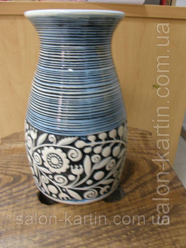 Ваза керамическая с орнаментом