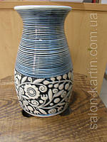 Ваза керамическая с орнаментом, фото 1
