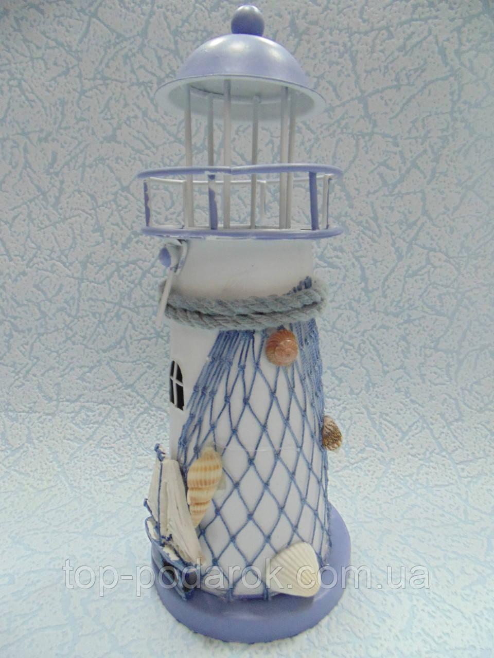Подсвечник маяк керамический