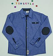 Стильная рубашка  для мальчика рост 116 -128 см, фото 1