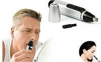Триммер для удаления нежелательных волос из носа и ушей