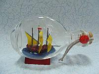 Корабль в бутылке размер 13.5*8*5.5 см