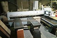 Пильный центр Holzma HPP82/38 Gold Edition б/у 01/02г. с ЧПУ для форматного раскроя плит, фото 1