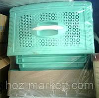 Комод пластиковый зелёный 4 отделения Украина