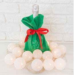 Новогодние мешочки и сапожки для подарков,символы наступающего года,мешочки на бутылку,все для НГ