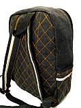 Джинсовий рюкзак Череп Джокер, фото 2