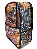 Джинсовый рюкзак Волк, фото 2