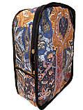 Джинсовый рюкзак Волк, фото 3
