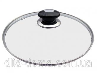 Крышка для сковороды стеклянная  26см