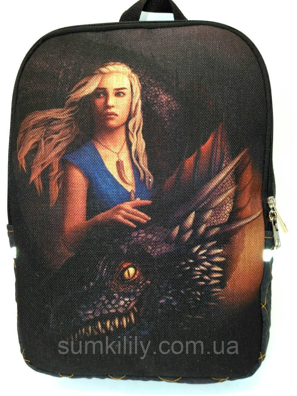 Джинсовый рюкзак Игра престолов 2