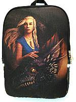 Джинсовый рюкзак Игра престолов 2, фото 1
