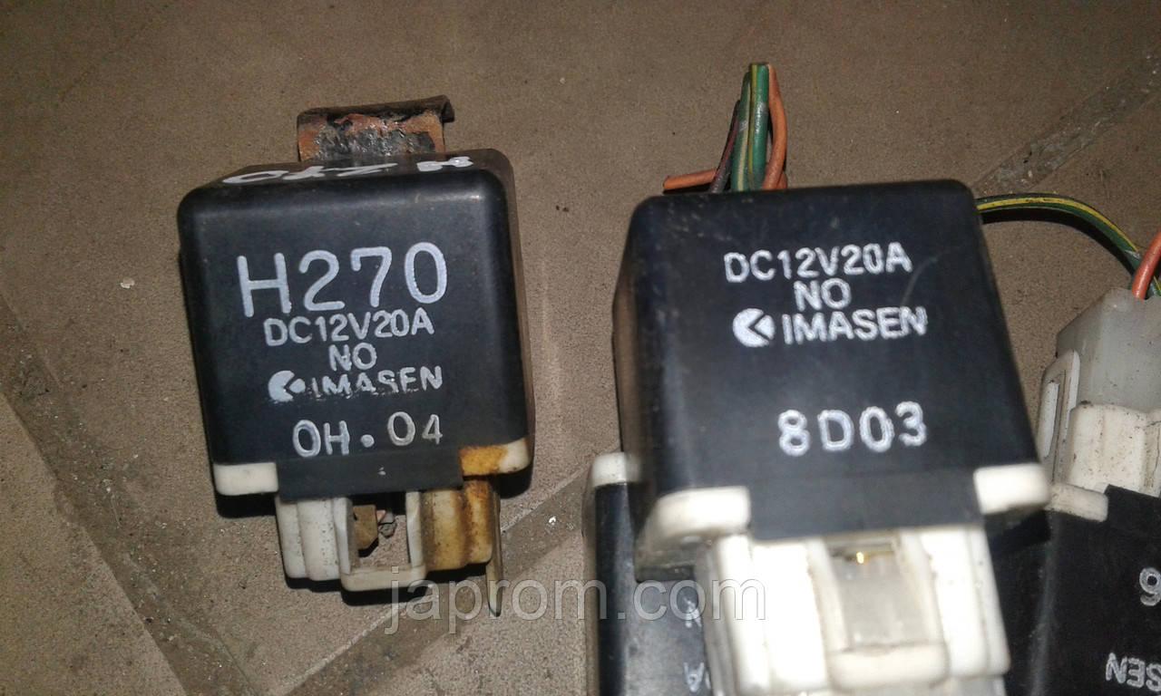 Реле печки MAZDA 323 626 H270 IMASEN DC12V20A