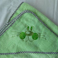 Полотенце уголок для купания
