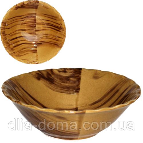 Миска веселка коричнева 600мл