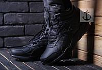 Зимние ботинки кроссовки пума  Puma Trinomiс   -Прескожа,подошва резина,внутри мех,размеры:41-46