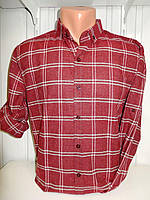 Рубашки мужские оптом купить со склада в Одессе 7 км - полукашемир, Турция (S-2XL)