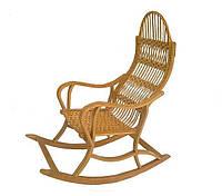 Плетеное Кресло-качалка розборочное из лозы