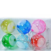 Елочное шарики с подсветкой
