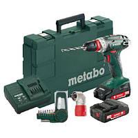 Аккумуляторный шуруповерт Metabo BS 18 LT 3x4,0Ah MetaLoc