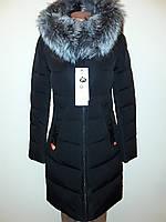 Куртка женская зимняя черная Meajiateer 17-83