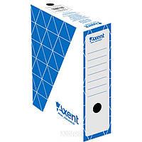 Бокс архивный Axent синий 10 см