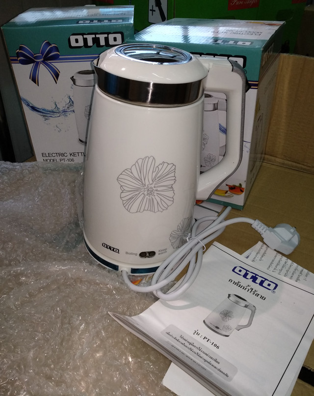 Электрический термочайник OTTO PT-106 1.5 л термос-чайник