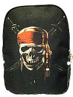 Джинсовый рюкзак Пират, фото 1