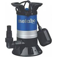 Погружной дренажный насос для грязной воды Metabo PS 7500 S