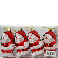 Набір ялинкових іграшок Дід Мороз