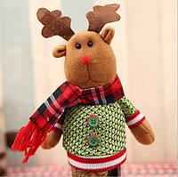 Рождественский декор для украшения бутылок