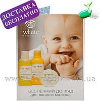 Пробник детского шампуня и геля для душа (2в1) White Mandarin 5 мл