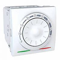 Термостат для теплого пола с датчиком температуры, белый - Schneider Electric Unica (Код: MGU3.503.18)