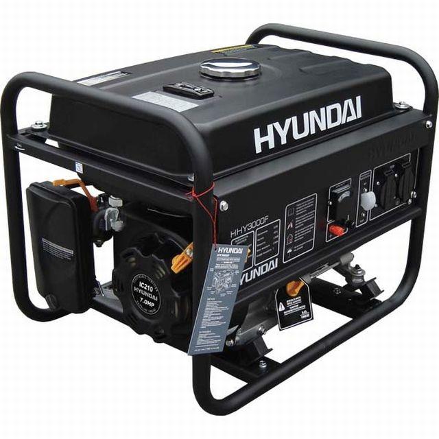Бензиновый генератор HYUNDAI HHY 3030F/FE 2,8 (3,0) кВт