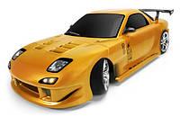 Полноприводная радиоуправляемая модель для дрифта Team Magic E4D Brushless с кузовом Mazda RX-7. Код: КГ2409