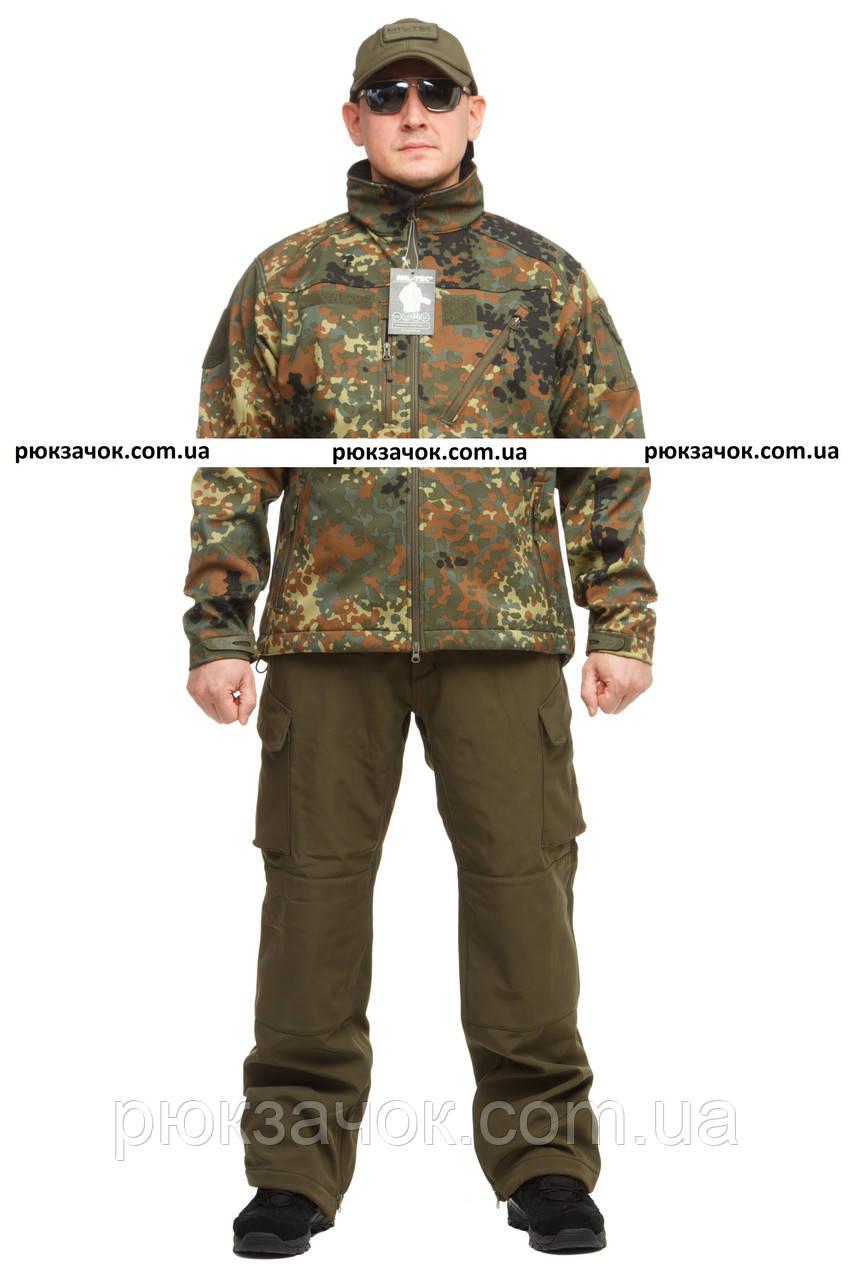 "Куртка осенняя для рыбалки и охоты Softshell ""Flectarn"" р ""XL"""